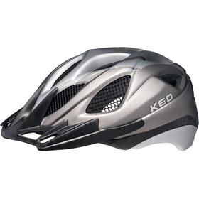 KED Tronus Helmet Anthracite Silver Matt